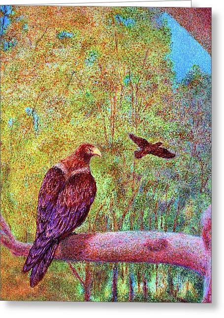 Wedgetail Eagles Greeting Card