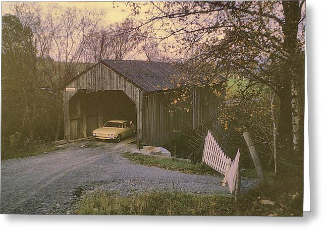 Weekend In New England Greeting Card by JAMART Photography