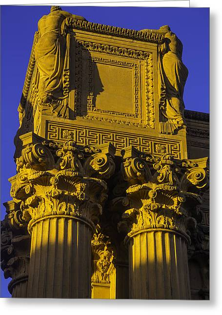 Weeping Females Palace Of Fine Arts Greeting Card by Garry Gay
