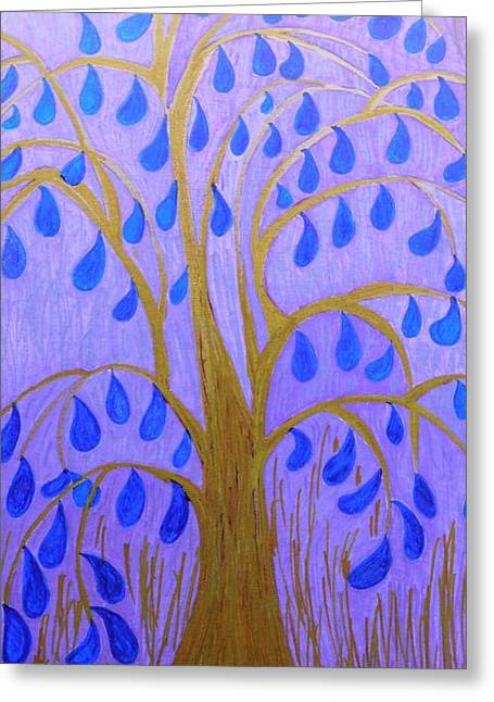 Weeping Tree Greeting Card