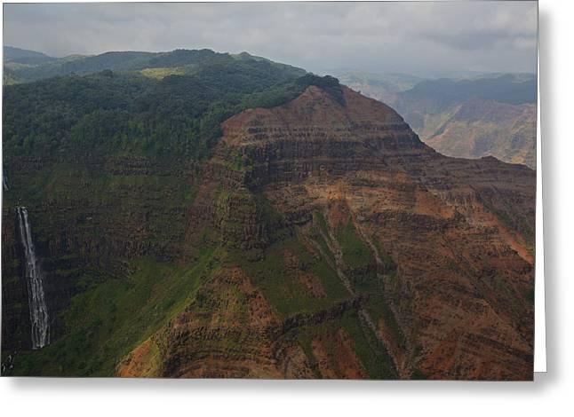 Weimea Canyons Greeting Card