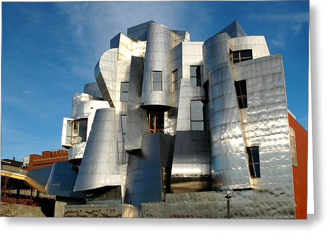 Weisman Art Museum Greeting Card by Kathy Schumann