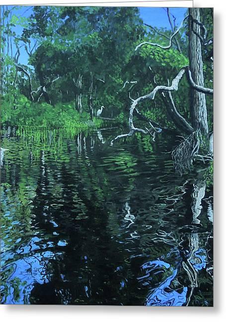 Wekewa River Greeting Card