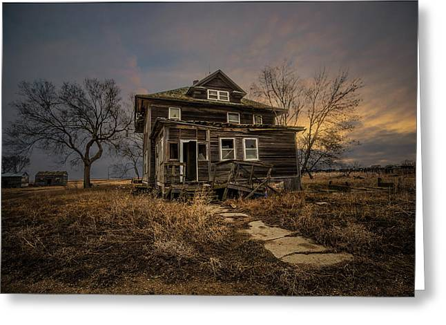 Welcome Home Greeting Card by Aaron J Groen