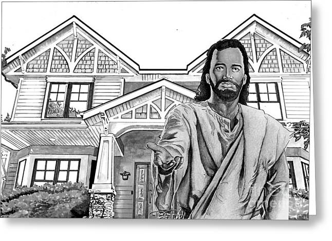 Welcome Home Greeting Card by Bill Richards