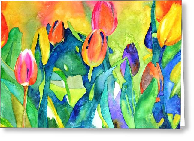 Welcome Spring #1 Greeting Card