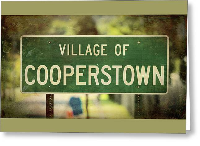Welcome To Cooperstown Greeting Card