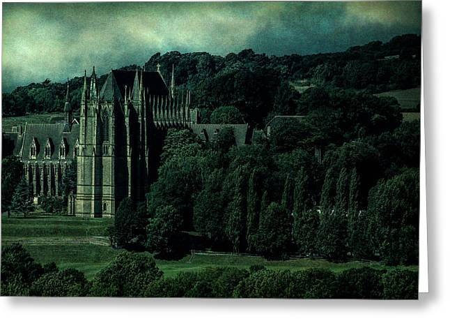 Greeting Card featuring the photograph Welcome To Wizardry School by Chris Lord