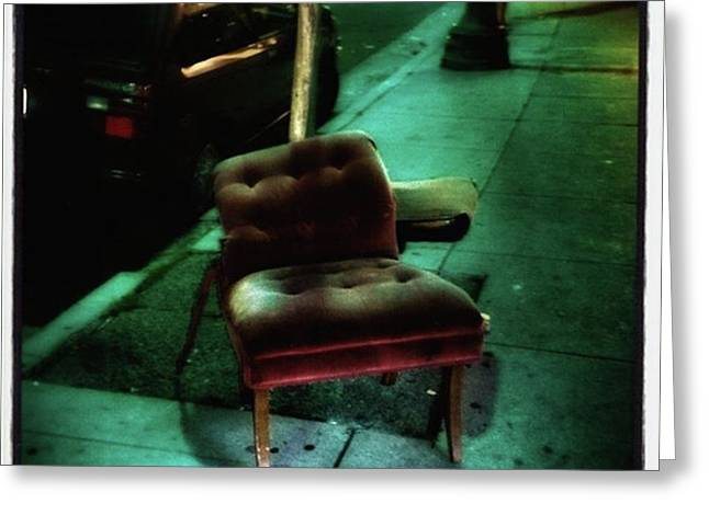 Greeting Card featuring the photograph Welcome To My Living Room, Pull Up A by Mr Photojimsf
