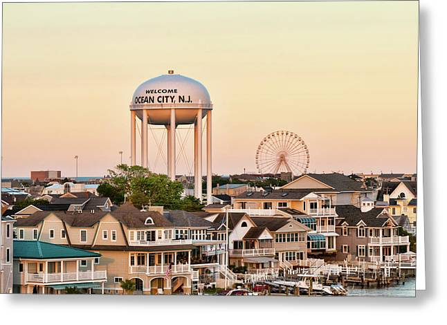 Welcome To Ocean City, Nj Greeting Card