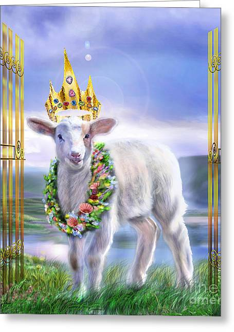 Welcome To The Kingdom Greeting Card
