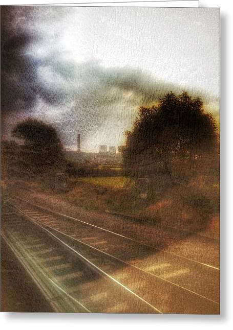 Greeting Card featuring the photograph Welcome To The North by Isabella F Abbie Shores FRSA