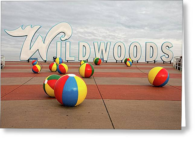 Welcome To The Wildwoods Greeting Card