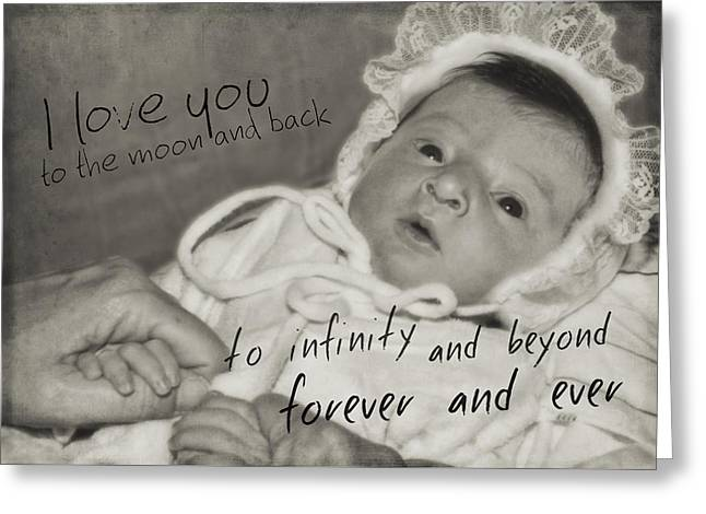 Welcome To The World Quote Greeting Card by JAMART Photography