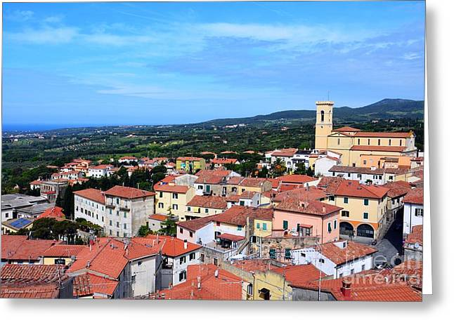 Welcome To Tuscany Greeting Card