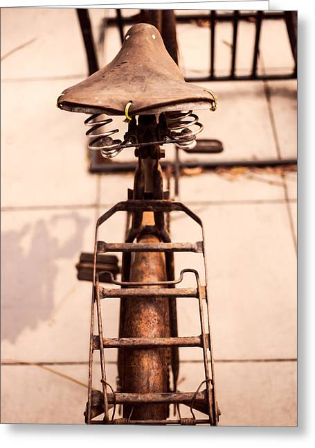 Well Worn Greeting Card by Peter Tellone
