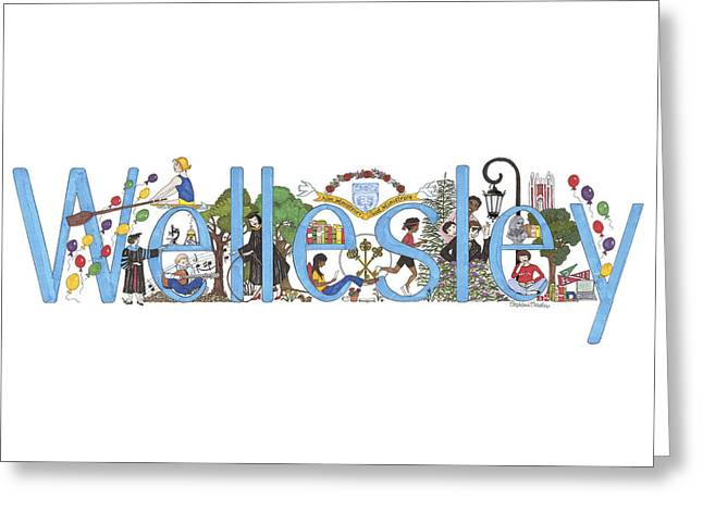 Wellesley College Greeting Card
