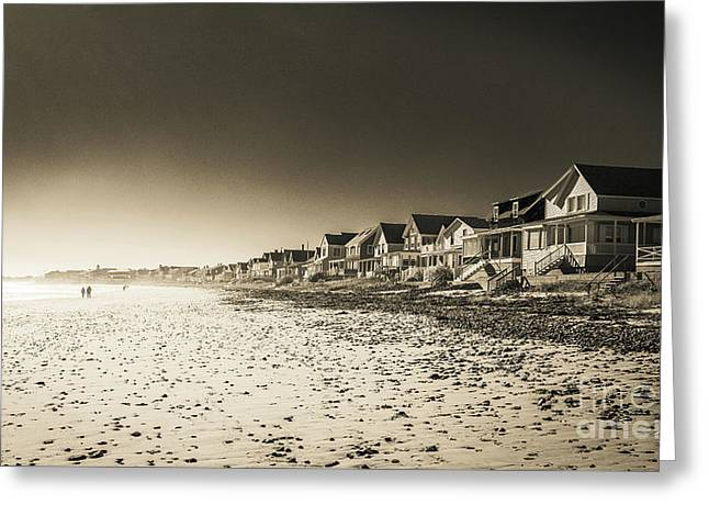 Wells Beach Maine Infrared Greeting Card
