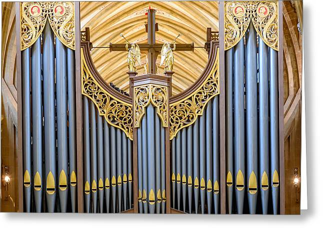 Wells Cathedral Organ Greeting Card