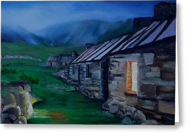 Welsh Cottage Greeting Card