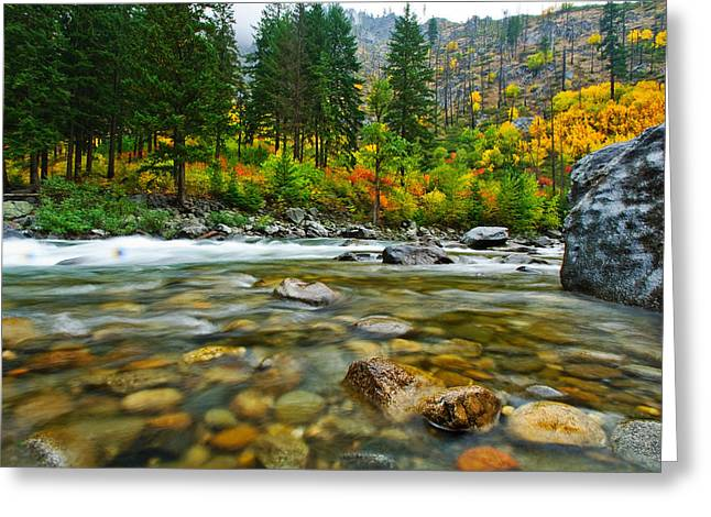 Wenatchee River Greeting Card
