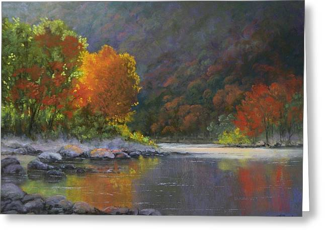 Wenatchee River Painting By Paula Ann Ford