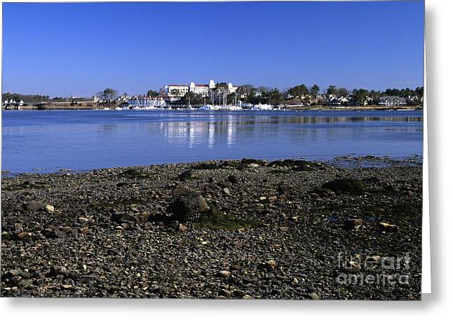 Wentworth By The Sea Hotel - New Castle New Hampshire Usa Greeting Card by Erin Paul Donovan