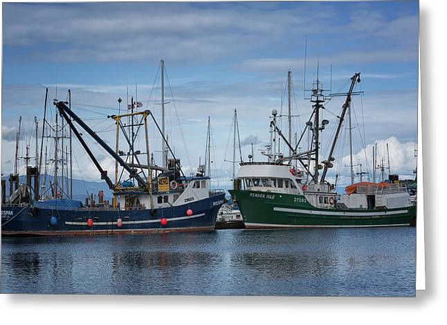 Wespak And Pender Isle Greeting Card by Randy Hall
