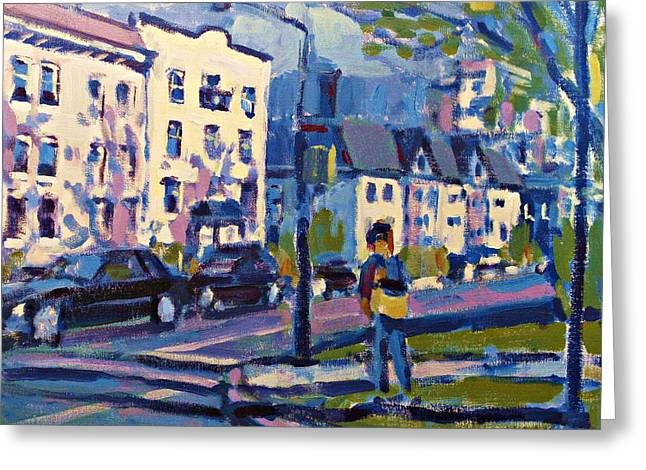 West 16th Greeting Card by Brian Simons
