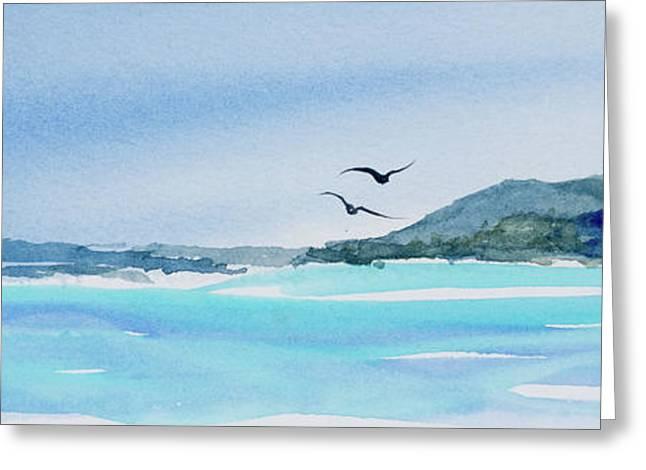 West Coast  Isle Of Pines, New Caledonia Greeting Card