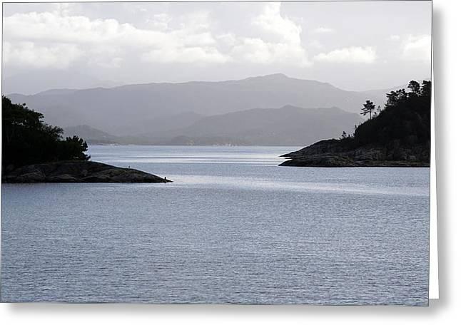 West Coast Norway 2 Greeting Card