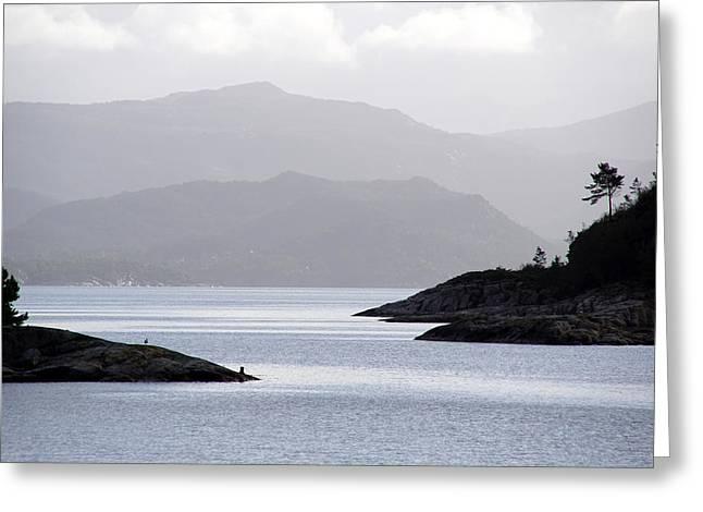 West Coast Norway Greeting Card