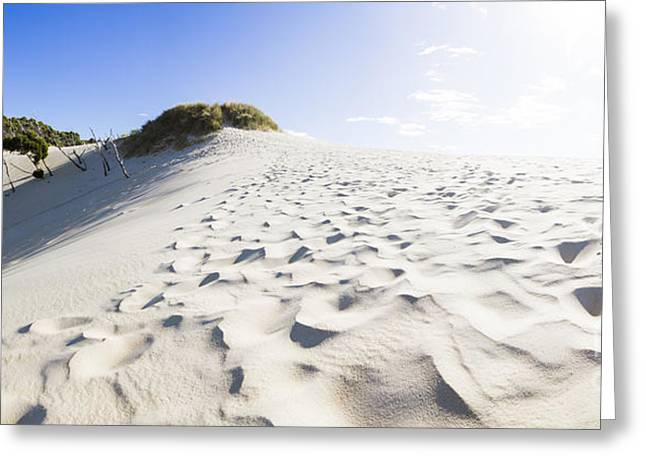 West Coast Tasmania Desert Panorama Greeting Card by Jorgo Photography - Wall Art Gallery