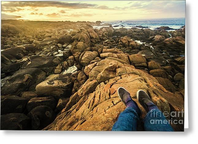 West Coast Tasmania Sightseeing Tour Greeting Card