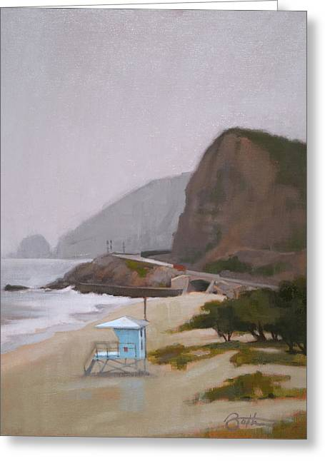 West Coast Greeting Card by Todd Baxter