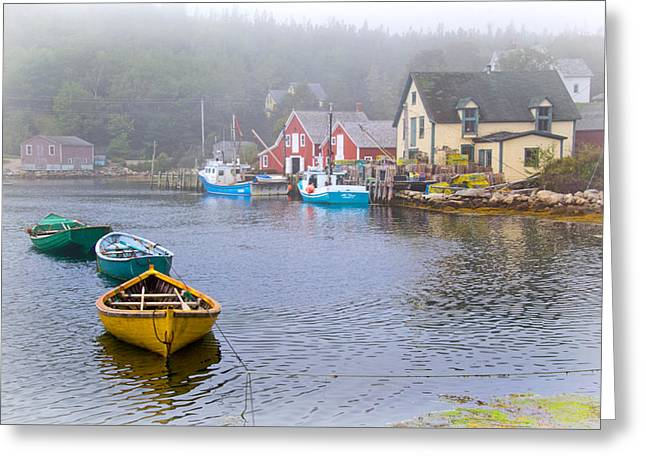 West Dover Harbour Greeting Card