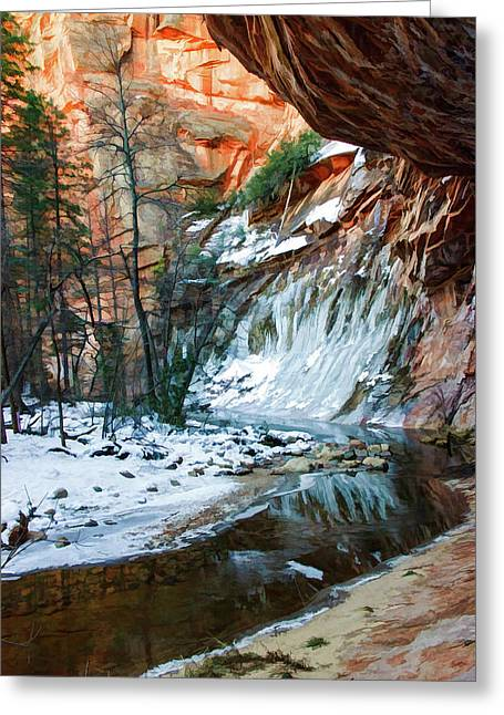 West Fork 07-029 Greeting Card by Scott McAllister