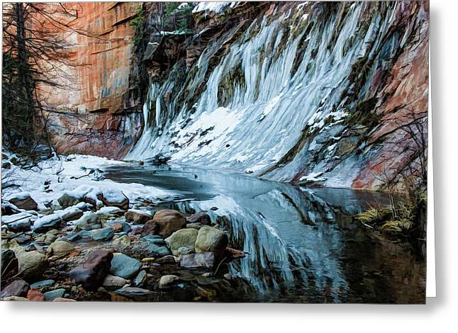 West Fork 07-040 Greeting Card by Scott McAllister