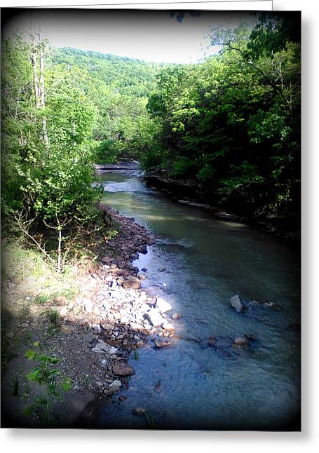 West Fork Of The White River Greeting Card by Lesli Sherwin