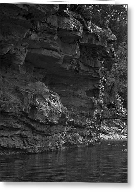 West-fork White River Greeting Card by Curtis J Neeley Jr