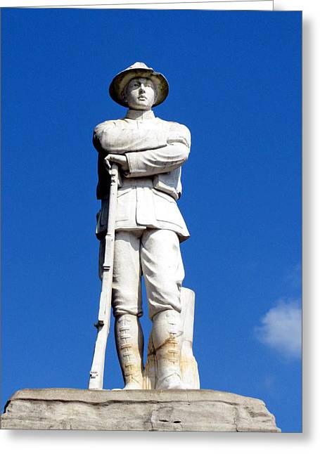 West Liberty Doughboy Greeting Card