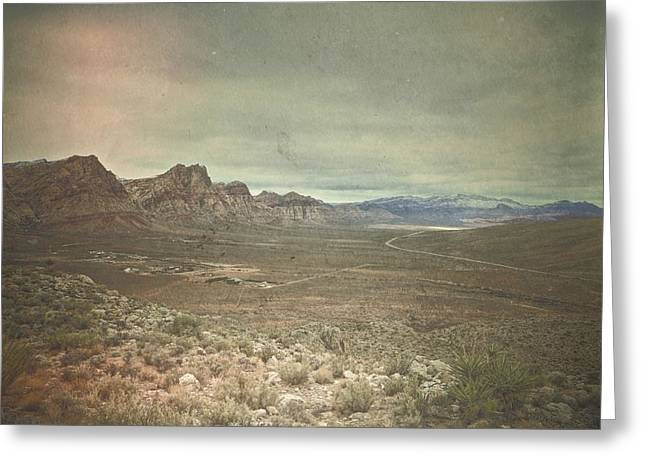 Greeting Card featuring the photograph West by Mark Ross