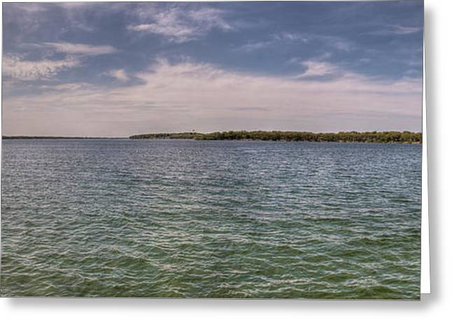West Okoboji Lake  Greeting Card by Shane Mossman