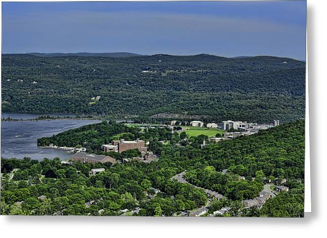 West Point From Storm King Overlook Greeting Card