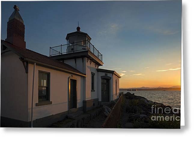West Point Light Greeting Card