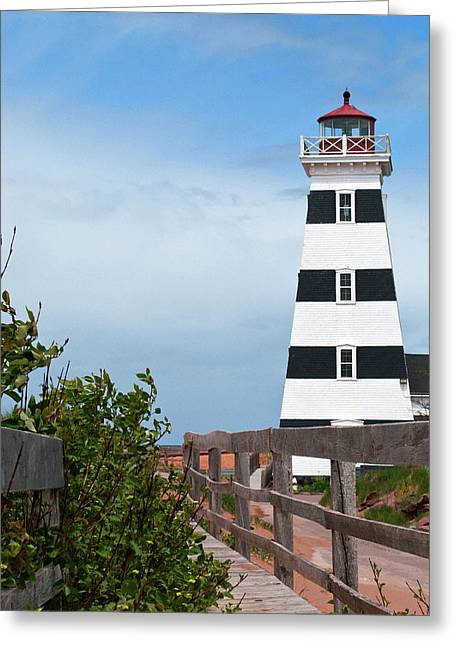 West Point Lighthouse 2017 Greeting Card