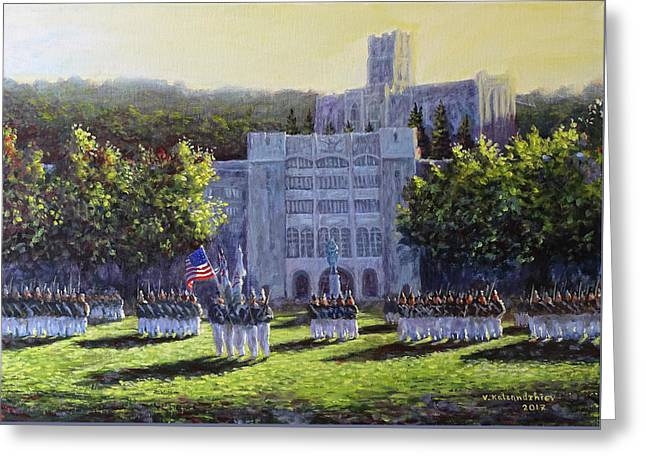 West Point Parade Greeting Card