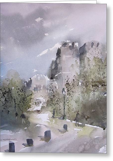 West Point Thayer Road Greeting Card