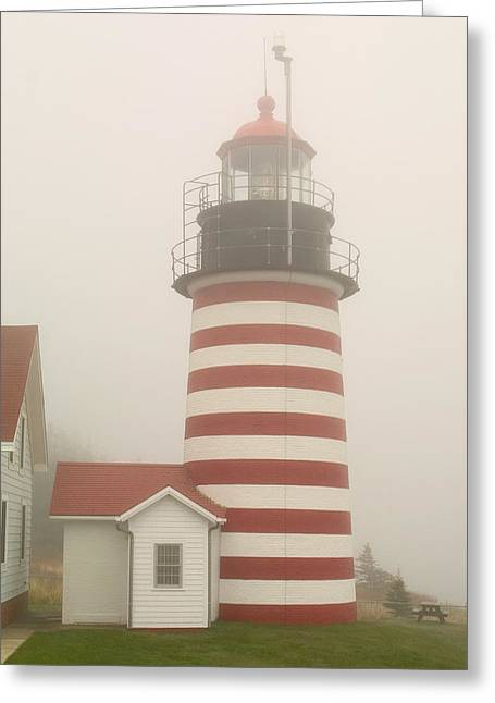 West Quody Head Lighthouse Greeting Card