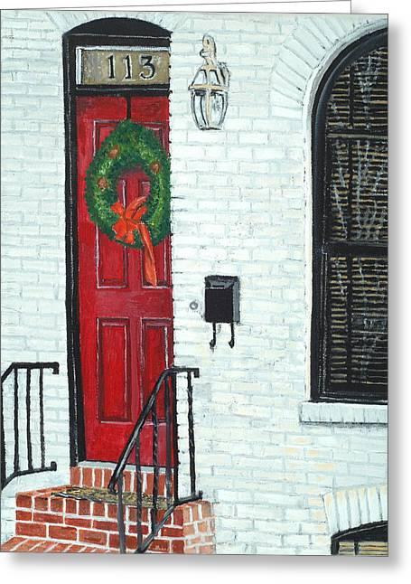 West Street Christmas Greeting Card